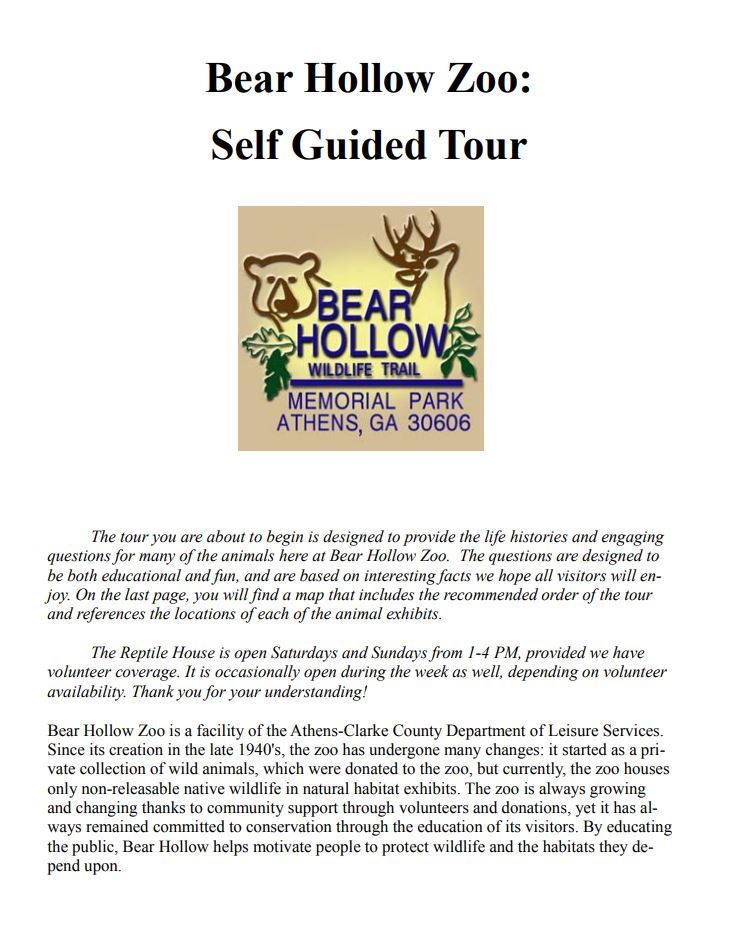 BHZ Self Guide Tours