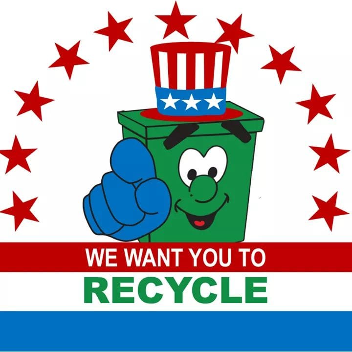 We want you to Recycle