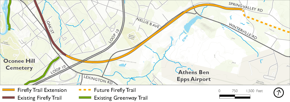 Firefly Extension Map