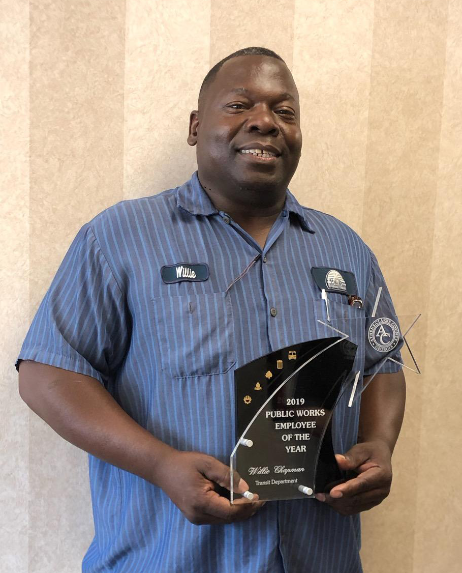 Willie Chapman - 2019 Public Works Employee of the Year