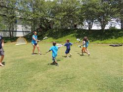 Kids playing at Sportstime Camp