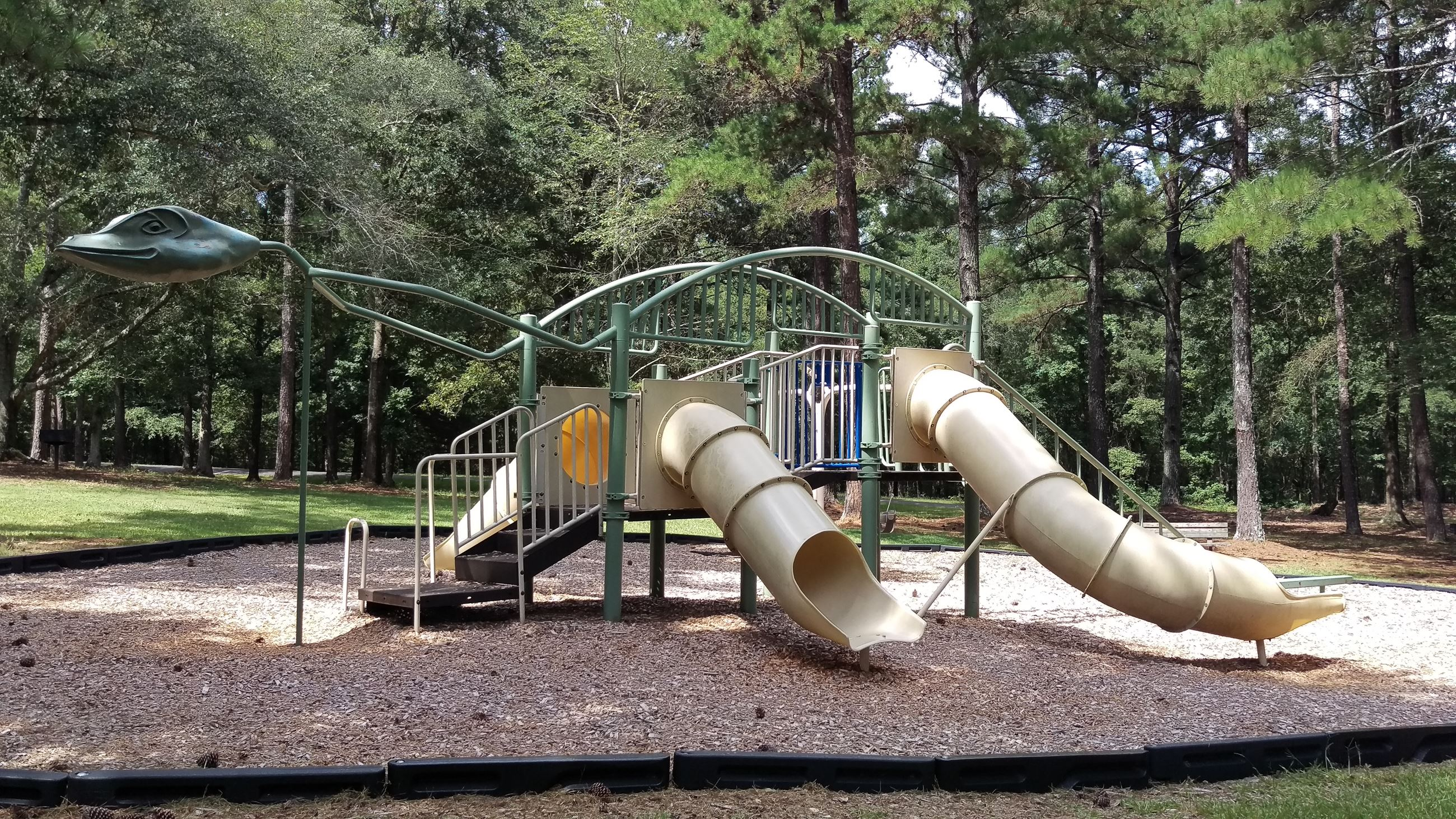 Photo of Playground 2 at Sandy Creek Park.