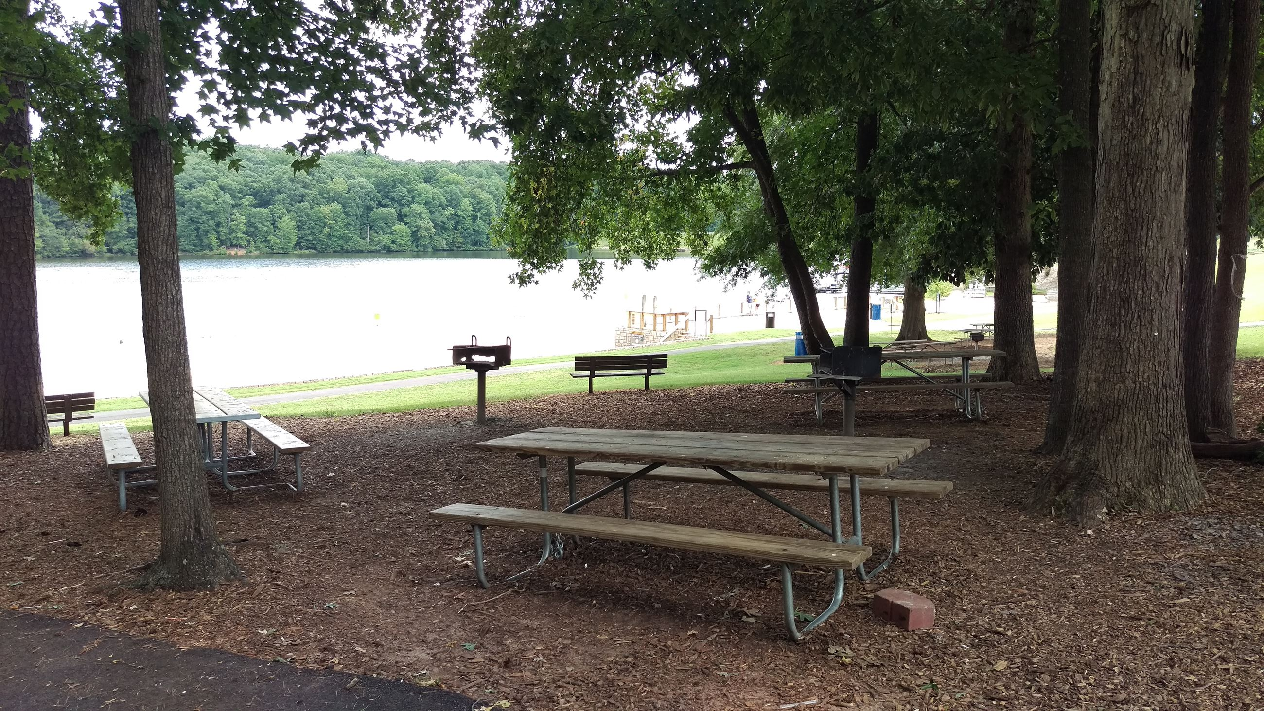 Photo of Picnic Area 2 at Sandy Creek Park.
