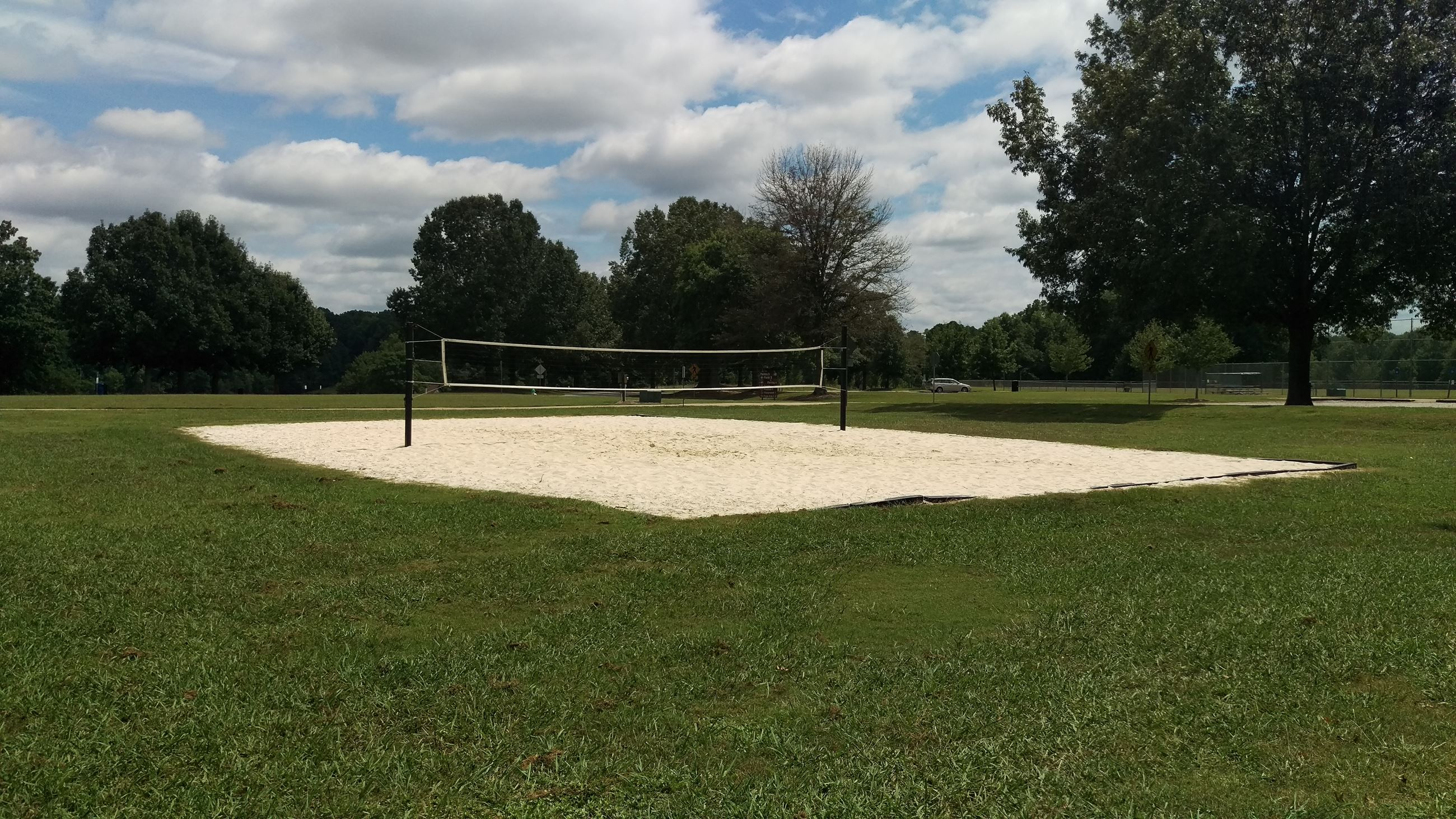 Photo of the Beach Volleyball Court at Sandy Creek Park.