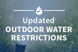 Updated outdoor water restrictions