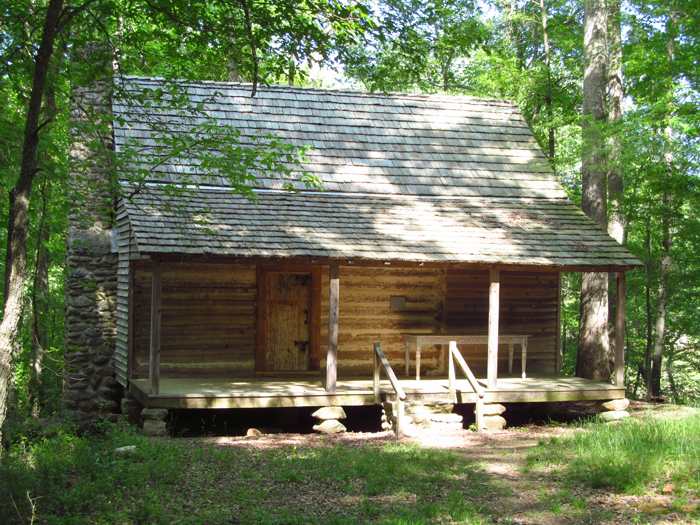 Louie R Bridges Log House Athens Clarke County Ga