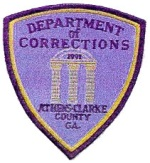 Department of Corrections patch