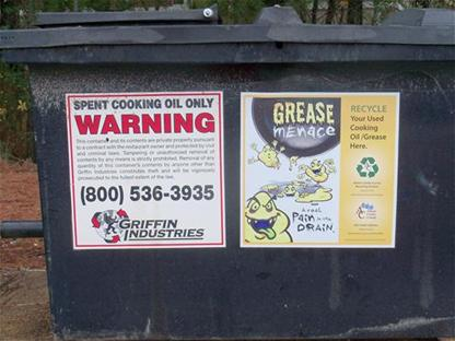 grease recycling container