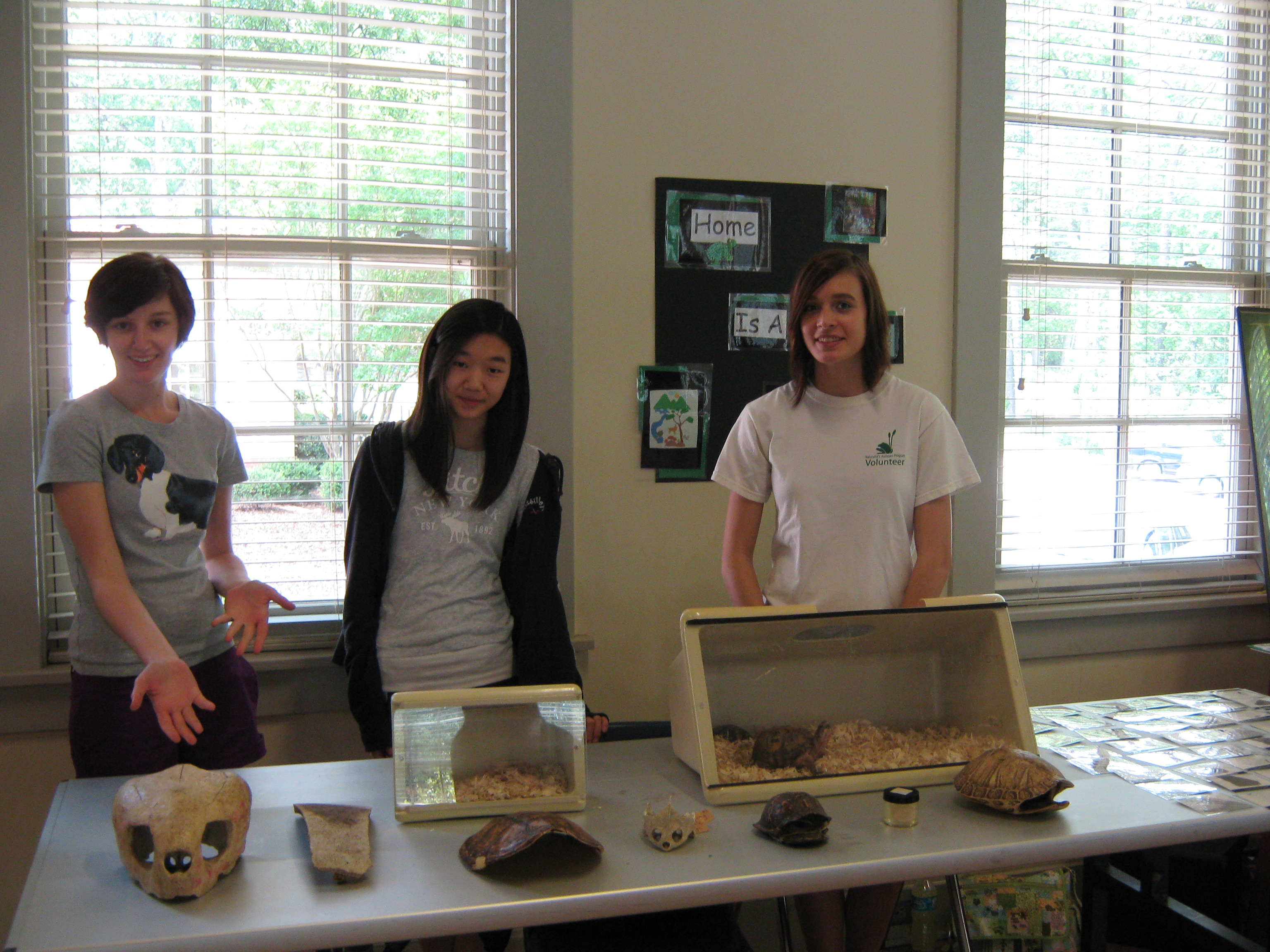 Sandy Creek Nature Center Volunteer